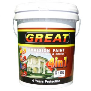 4in1 emulsion paint