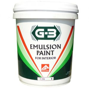 G-3 Emulsion Paint For exterior