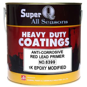 anti-corrosive red lead primer