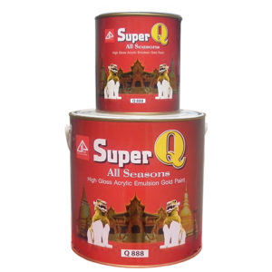 Super Q Gold paints Q-888